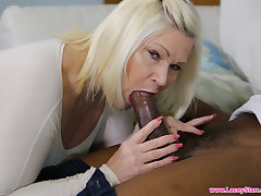 LACEYSTARR - Granny Analised Wits Big Black Cock