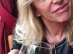 French MILF Marina Beaulieu having sex with BBC in front be fitting of her husband