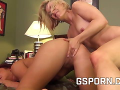 Hot milfs callers fucking after training