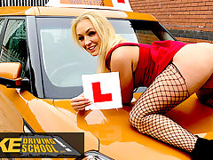Fake Driving School, titillating jealous twin loves a good fuck