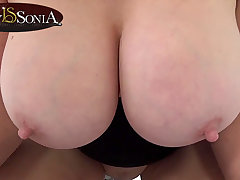 Lady Sonia shoves her huge special in your face