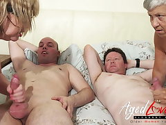 AgedLovE British Mature Dispose Sex and Toying