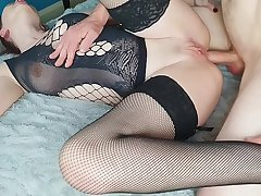 Anal Friday Sunless with CreamPie conclude