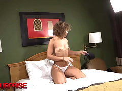 20yo Short & Curly Haired Kyra Banged By A Big Blackguardly Dick!
