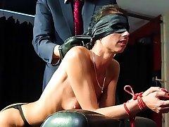 BADTIME Folkloric - Wild BDSM with gorgeous German slave July Sun