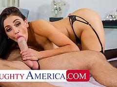 Naughty America - Audrey Bitoni fucks husband's employee