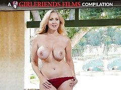 Julia Ann Milf & Teen Lesbian Compilation - GirlfriendsFilms
