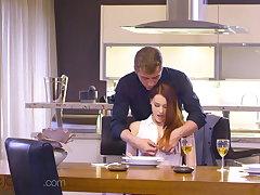 Dane Jones, Sexy Czech redhead Charlie Red, propound oral