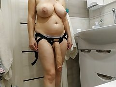 Sexy milf wants to fuck her resultant with a huge cock