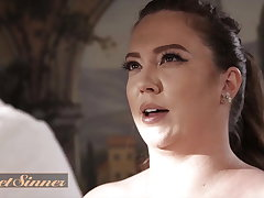 Chubby Babe Maddy O'Reilly Has Her Pussy Fucked