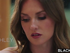 BLACKED, Ashley gives hubby a surprise threesome to Jill