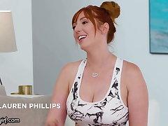 Emily Willis Goes Insane Respecting Step-MILFs