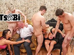 Rich Bi Couple Throw a Fucking Decay Party