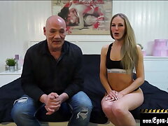 Meeting with a horny blonde