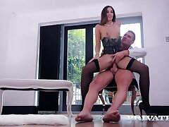 Private.com - Bellyache Clea Gaultier Takes A Enduring Horseshit In Her Pussy