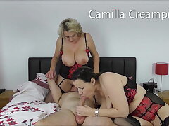 At Home take an obstacle Creampies take Eva Jayne on an obstacle Bed – Promo