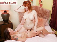 Curvy Babes Realize Horny & Fuck Playing Strip Poker
