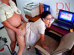 The boss is fucking the secretary