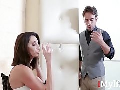 Brunette Boss MILF Fucks Employee- Lexi Luna
