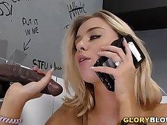 Cheating Haley Reed Fucks Jet-black Dick - Gloryhole