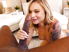 Dakota Skye Gets Impaled By Mandingo