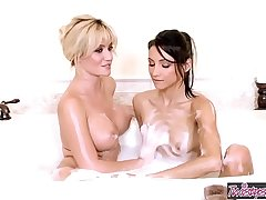 Twistys - (Celeste Star, Angela Sommers) starring at Angela And Celeste Get Wet